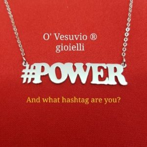 collana hashtag power