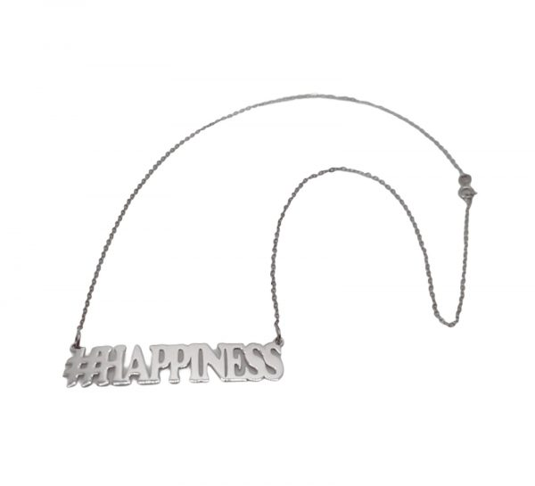 COLLANA HASHTAG HAPPINESS